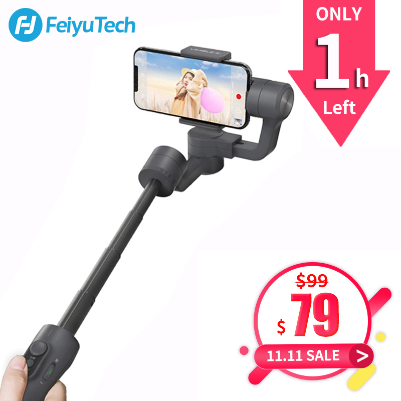 FeiyuTech Vimble 2 Feiyu 3-Axis Handheld Gimbal Smartphone Stabilizer Extendable Pole Tripod for iPhone X 8 XIAOMI Samsung цены