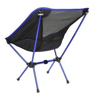 Image 2 - Silla de pesca ligera y portátil, taburete sólido para acampar, muebles plegables para exteriores, sillas ultraligeras