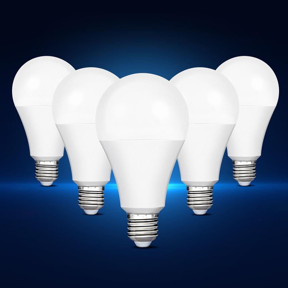 Smernit LED Bulbs E27 AC85-265V 7W 9W 12W 15W 18W 110V 120V 220V 230V 240V Lampada Lamps LED Light Lighting White Warm Light smernit led light bulb e27 ac85 265v 7w 9w 12w 15w 18w white 110v 120v 220v 230v 240v warm energy saving bulbs lamps lampada