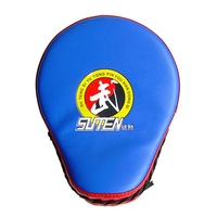 Taekwondo Target Leather Training Equipment Punching Kicking Pad Curved Target MMA Boxing Curved Punch Pad 1pcs