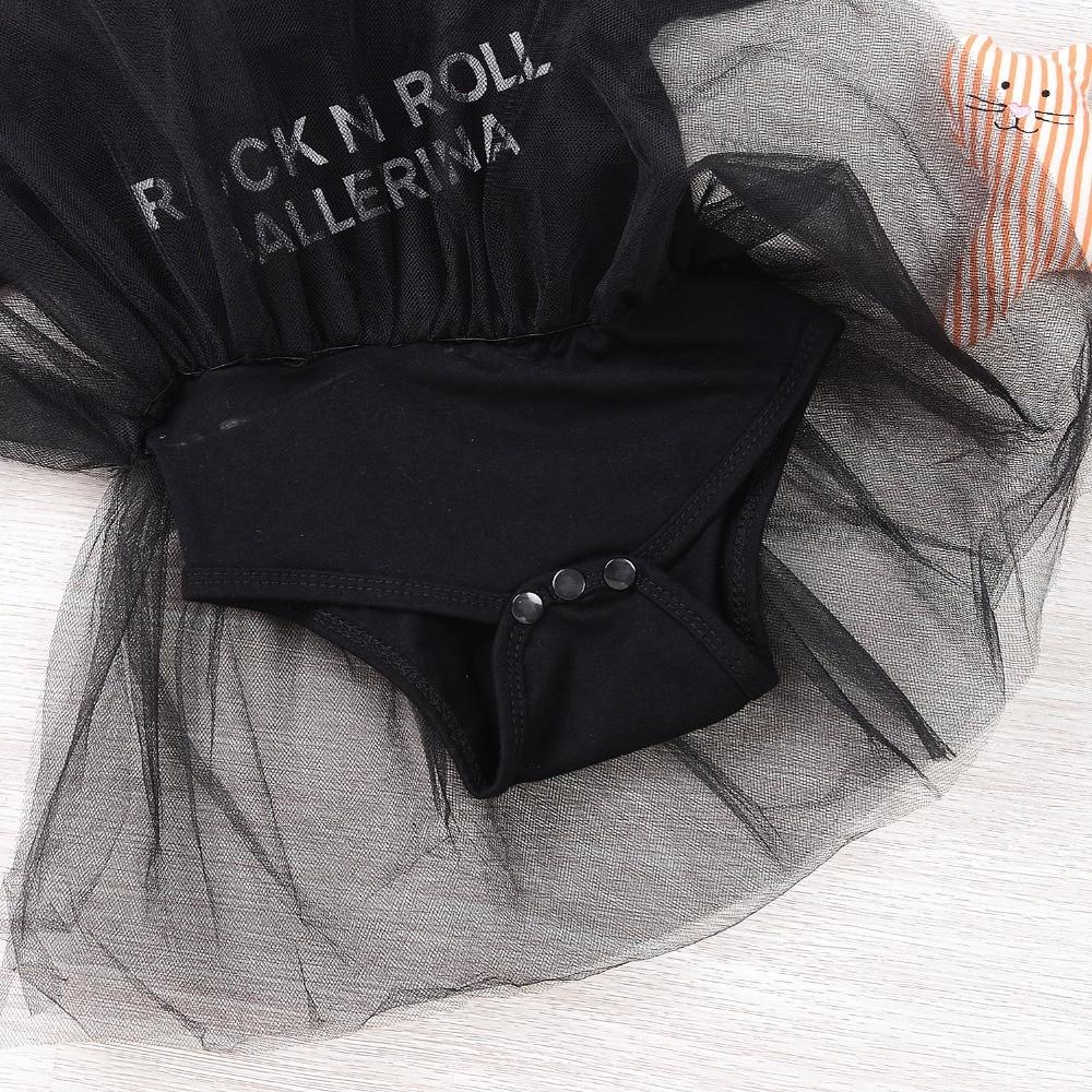 30b174e72 Mikrdoo Hot Infant Baby Black Rompers Girls Lace Tutu Romper Short ...