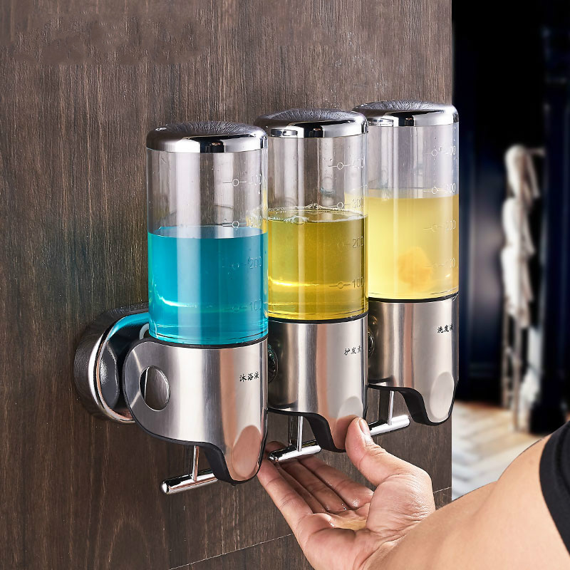 Soap Dispenser The Soap Dispenser Hotel Bathroom Wall Hanging Manual Shower Gel Bottle Box To Hand Sanitizer