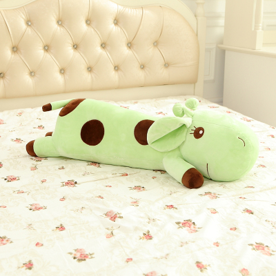 lovely prone graiffe doll about 110 cm cartoon graiffe plush toy long pillow , birthday gift x132 about 60cm creative prone cat doll plush toy soft throw pillow christmas gift x071