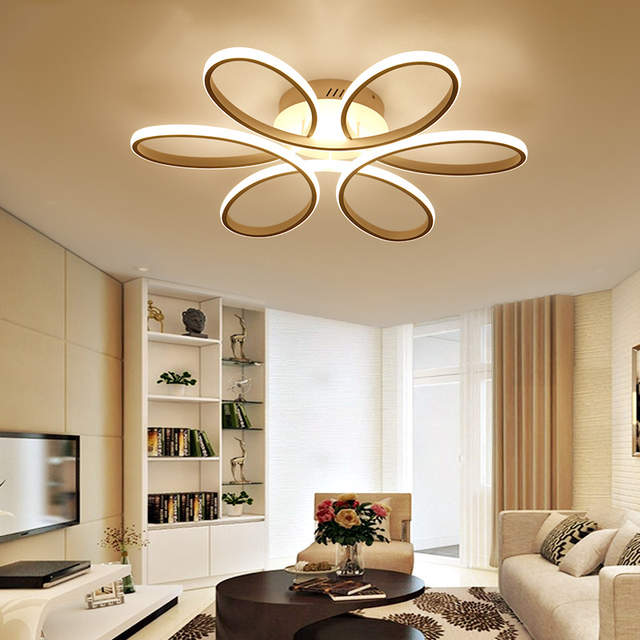 Us 85 68 28 Off Led Ceiling Light Modern Simple Lamp Living Room Bedroom Home Decor Lighting Fixture Aluminum Acrylic In