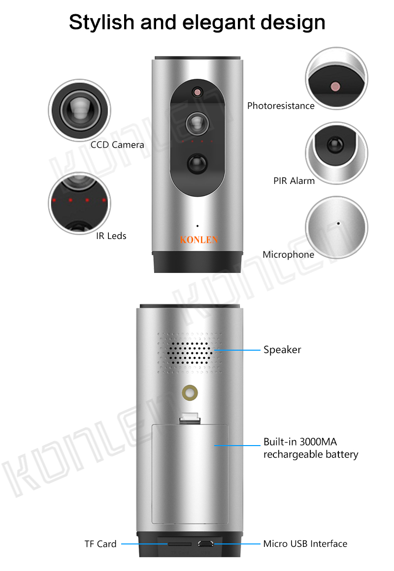 Powered WIFI IP Camera 10