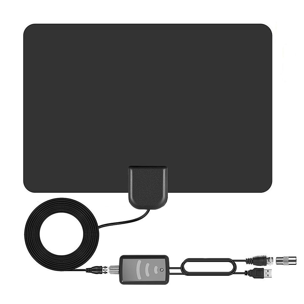 Antena HDTV amplificadas digitales para interiores Rango de 120 millas 4K 1080P