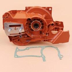 Carcasa del Motor del tanque de aceite del rodamiento del cigüeñal para HUSQVARNA 365 362 371 372 372XP piezas del Motor de la motosierra