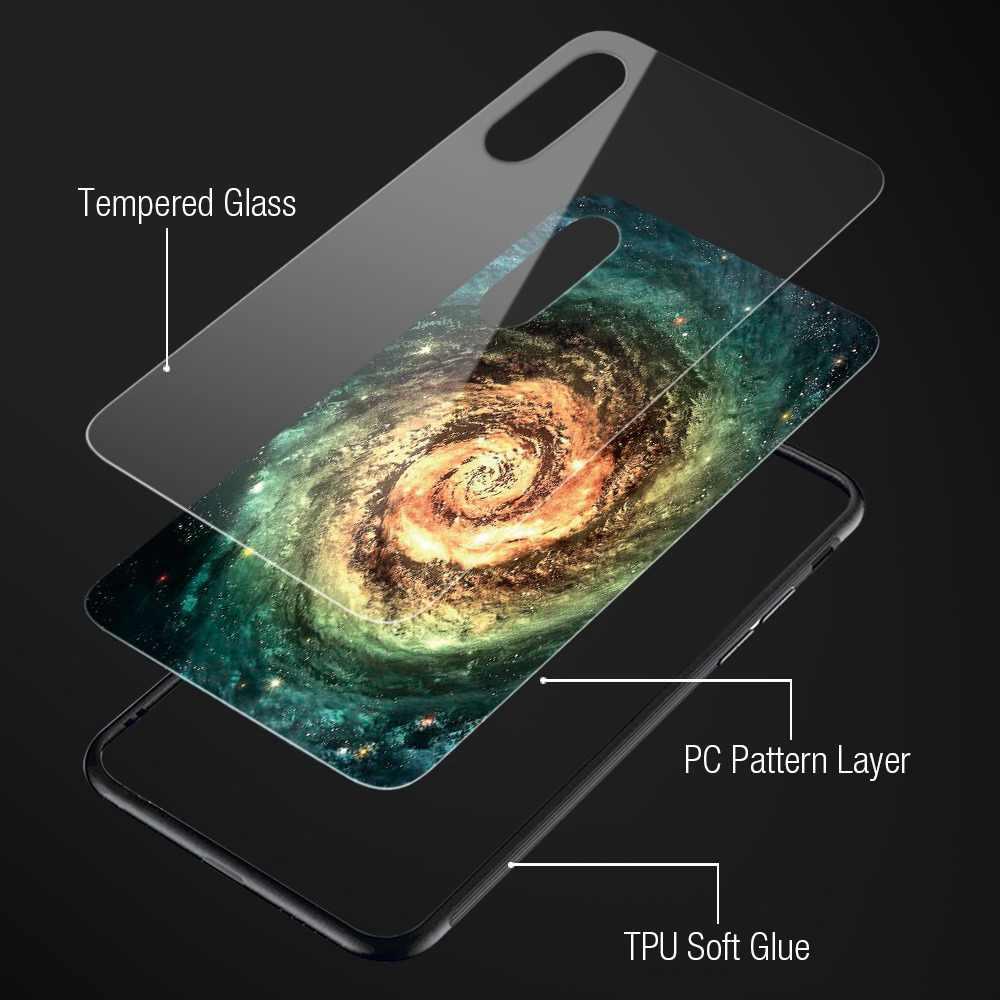 TOMKAS стеклянный чехол для iPhone X 7 8 10 6 s XS Star Space чехол для iPhone 8 7 6 6s Plus X Роскошный чехол силиконовый чехол 6