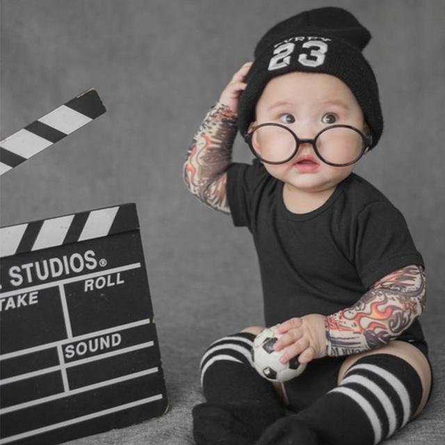 Baby Tattoo Print Bodysuit [9 Styles]