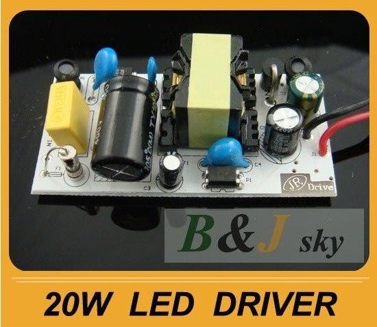 Power Driver For 20W 20 Watt LED Light Lamp Bulb DIY ...