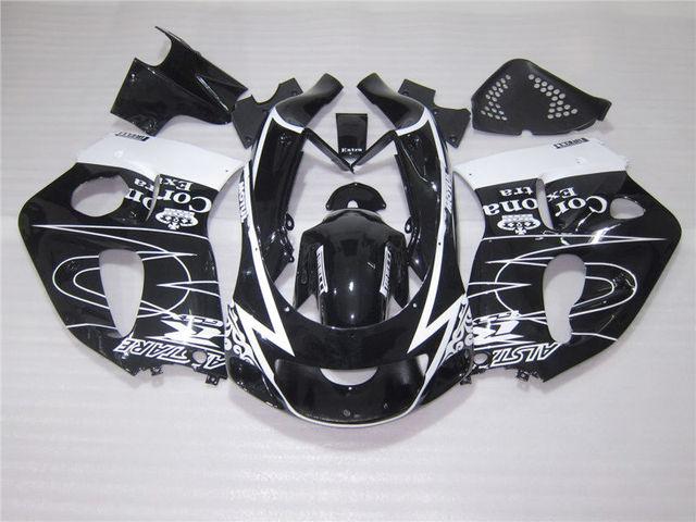 Hot Sale Body Parts Fairing Kit For Suzuki GSXR750 96 97 98 99 00 White Black