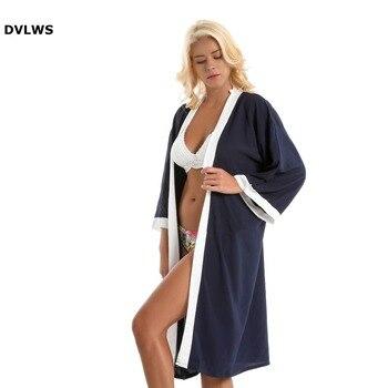 Fashion Women's Beach Shawl Pashmina Sunscreen Bikini Cover Shawl Navy Color Free Size Women's Bikini Swiming Shawl