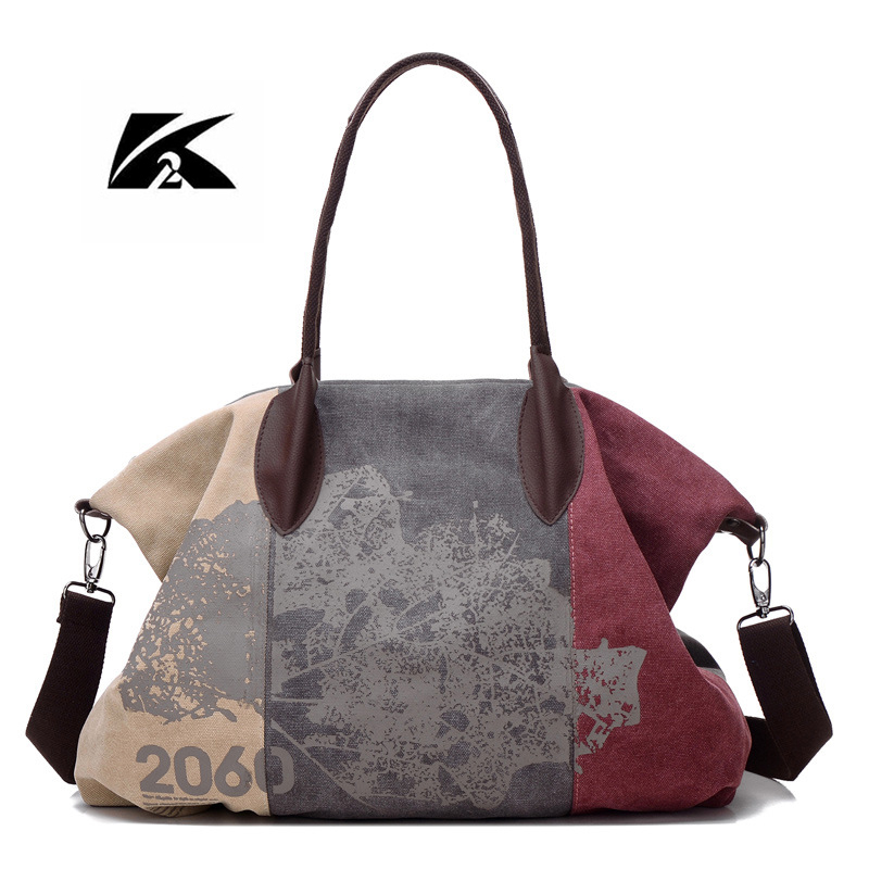 KVKY Women Canvas Bag New Woman Messenger Bags For Woman Handbags 2017 New Woman Shoulder Bag Print Bag Bolsa Feminina Sac WH229 new 2017 women bag vintage canvas handbags messenger bags for women handbag shoulder bags high quality casual bolsa