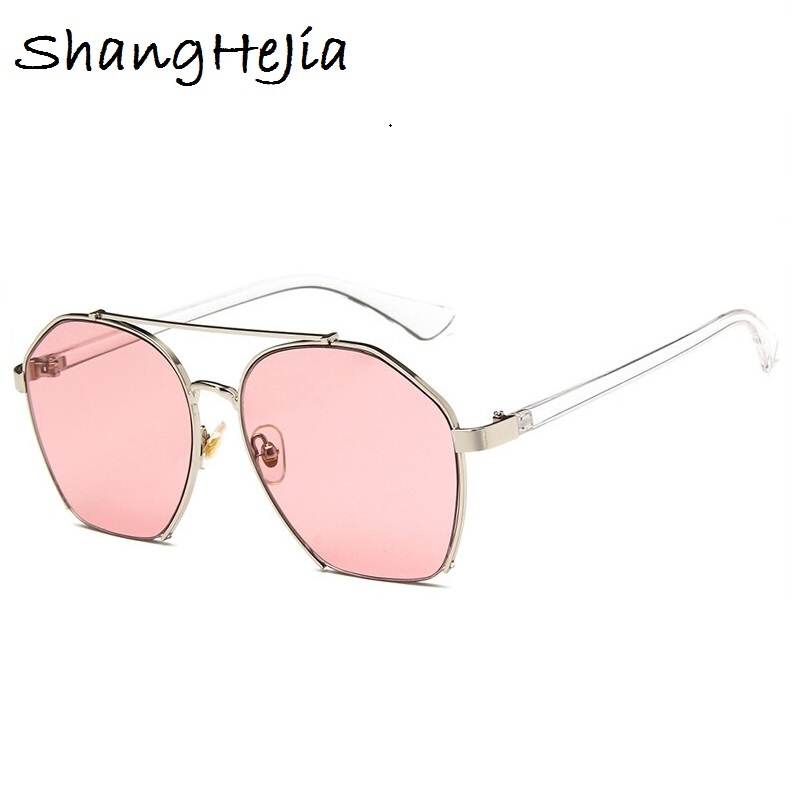 2018 Fashion Retro Half Frame Cat Eye Sunglasses vintage shades ...