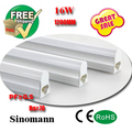 t5 led tube 1200mm 16W SMD2835 25LM/PC 80leds/PC 1700LM High Power factor AC85-265V CE/RoHS/SAA Approved T5 Tube