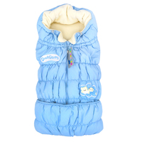 Winter Boys Girls Baby Sleeping Bag wool Fleece Sleeveless Stroller Cart Basket Multifunctional Envelope Newborns 1501