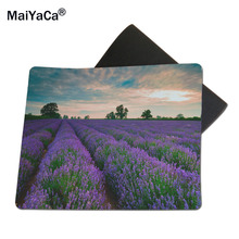 MaiYaCa Purple Fields Of Lavender Mouse Mats Computer Laptop Notbook