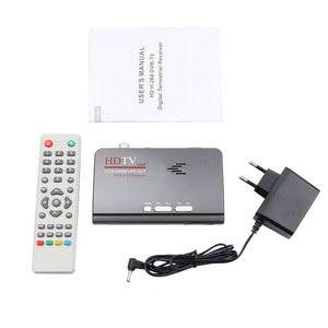 Image 3 - ТВ тюнер Kebidumei DVB T/DVB T2 ТВ приставка VGA AV CVBS 1080P HDMI Цифровой HD спутниковый ресивер с пультом дистанционного управления