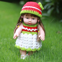Reborn Babies 30cm Vinyl Soft Silicon Lovely Lifelike Cute Girl Toy Bonecas Bebe Gift Present To