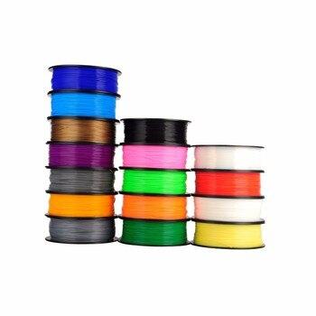 Filamento 3D para bolígrafo de 1,75mm de diámetro, filamento 3D para impresora 3d, bolígrafo de plástico abs de baja temperatura de 1kg a 1,75mm para bolígrafos 3d