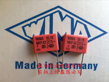 2019 hot sale 10pcs/20pcs German capacitor WIMA MKP-X2 0.15UF 275V 154 275VAC 150n P: 15mm Audio capacitor free shipping цена