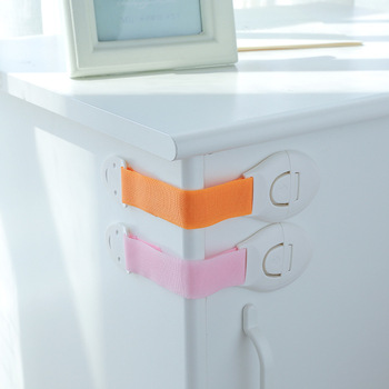 цена на Plastic Safety Cabinet Door Children Kids Drawer Candy Lock Protection Baby care safe Locks & Straps Products Infant Security