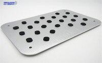 Car Floor Carpet Mats Mat Pedal Pad Footrest Plate For BMW 1 2 3 4 5 6 7 series X1 X3 X4 X5 X6 F10 F30 E46 E52 With M logo