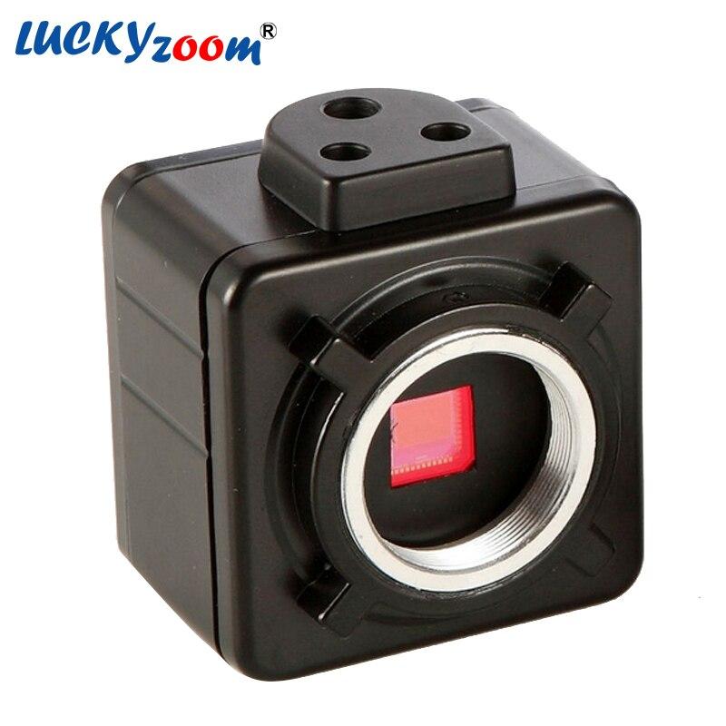 5MP Cmos USB Fotocamera Microscopio Elettronico Oculare Digitale Libero del Driver/software di misura Ad Alta Risoluzione per Win10/7/win8