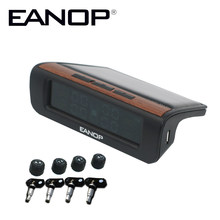 EANOP F01 Solar TPMS tyre pressure internal & External sensor tire pressure monitoring system indicator cap for Cars(China)