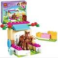Nueva Bela 10533 43 Unids Amigos Poco Potro Kits Figuras Building Blocks Ladrillos Modelo conjunto Niña Juguetes de regalo de Navidad 41089