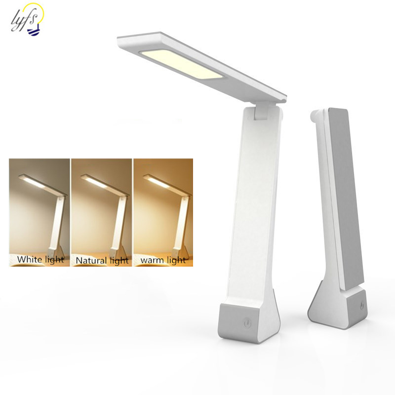 LED eye protection table lamp touch dimming USB folding table lamp learning lighting book lightLED eye protection table lamp touch dimming USB folding table lamp learning lighting book light