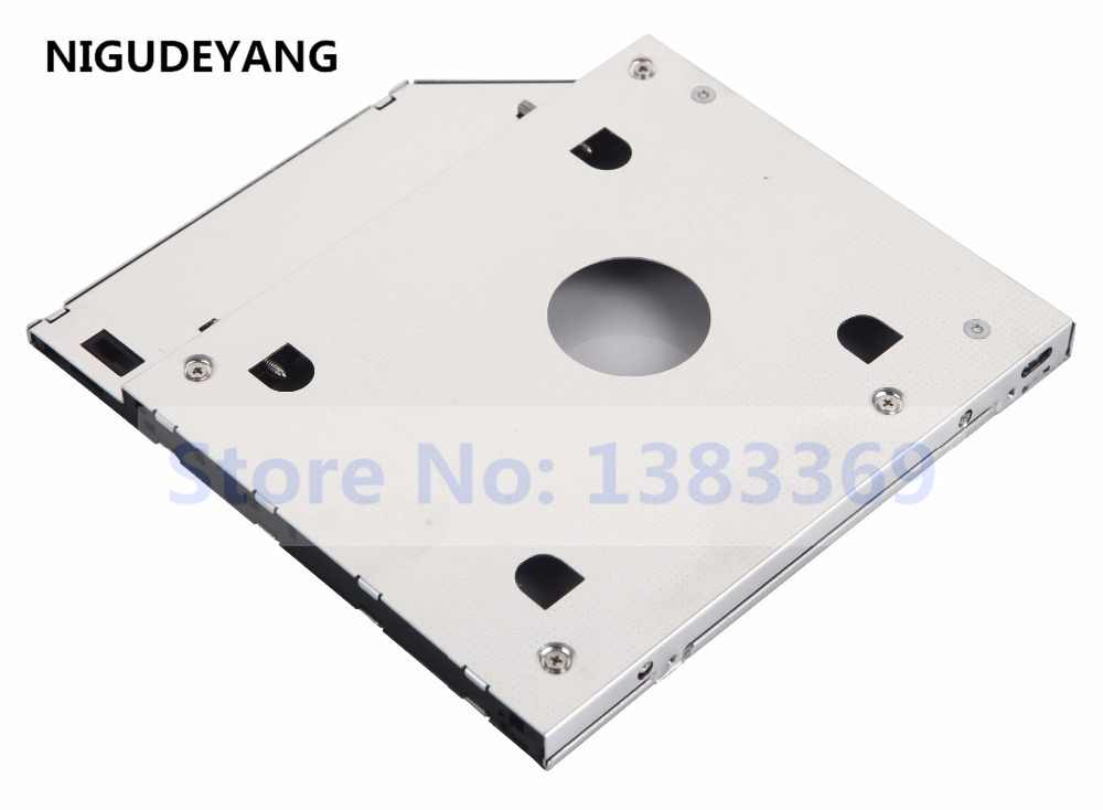 Deyoung 2nd SATA HDD SSD Hard Drive Frame Caddy Adapter for HP Pavilion 17-F239DS DM4-1000 15-n081sr