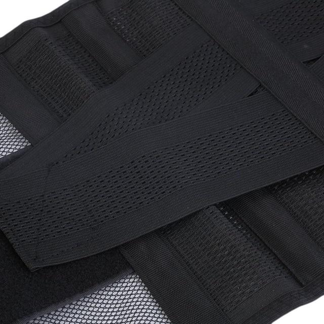 New Adjustable Men Waistband Belly Waist Shaper Belt Abdomen Tummy Trimmer Cincher Girdle Burn Fat Body Shaping Supports Braces 4