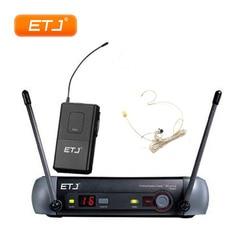 Wireless Microphone Karaoke PGX14 KTV UHF Wireless System PGX4 PGX1 Headset Mic With Beltpack Top Quality