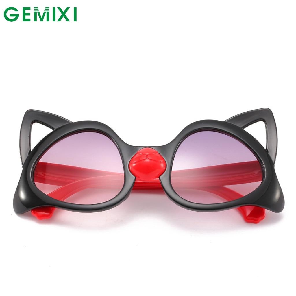 Girl's Sunglasses Hearty Cat Eye Sunglasses Children Kid Retro Frames Designer 2019 Brand Eyeglasses Lentes De Sol Hombre Vintage Sun Glassses 18jan3 Apparel Accessories
