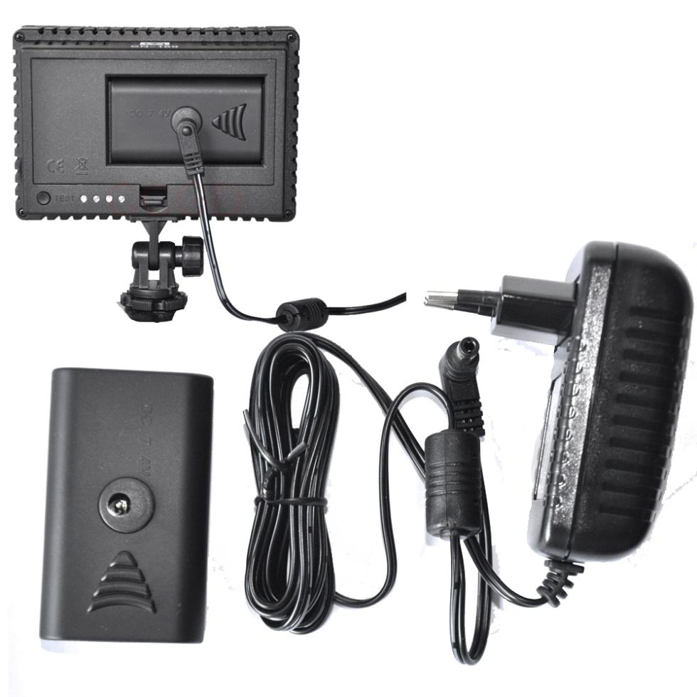 Mobile Home Power Cord 220 : V ac adapter power for any led video lihgt