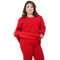 women winter pyjamas Plus size XXXXXL Thicken keep warm red pajamas sets women pijama verano mujer large size 4xl 130KG