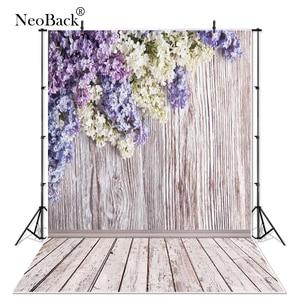 Тонкий виниловый Фотофон NeoBack, индивидуальные весенние цветы, цифровая печать, студийный Фотофон P2393