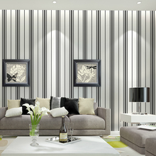 duvar kagit Modern Wall Papers Home Decor Vertical Strip Wallpaper Roll Living Room Bedroom Wall Murals papel de parede listrado beibehang pvc wallpaper glitter wall paper roll shine wall covering for home decoration for ktv papel de parede listrado