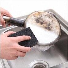 Волшебная губка Ластик для удаления ржавчины Чистящая Наждачная губка меламиновая губка кухонные принадлежности Чистящая кастрюля 6zCF416