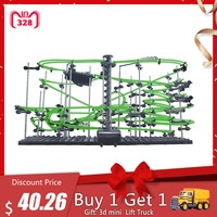 DIY Educational Toys Spacerail Level 4 Glow In The Dark Marble Roller Coaster with Steel Balls Toys for Kid 26000mm 231 4