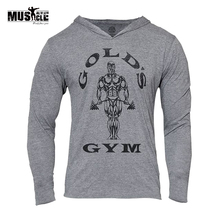 Golds Gyms Clothing Men Hoodies Bodybuilding Sweatshirt Hoodies Men Sportswear Long Sleeve Tracksuit Men Cotton