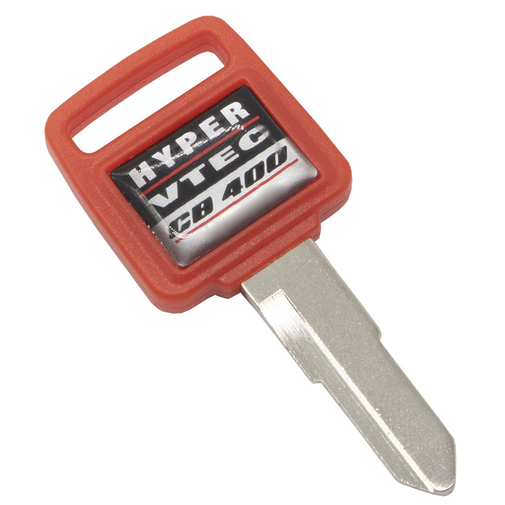 WhatsKey 5Pcs/Lot Uncut Blade Motorcycle Key For Honda HYPER VETC CB400