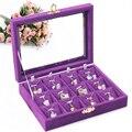 Pendant jewelry show  Jewelry Storage Box Jewelry display and storage acrylic organizer stand box Cover glass pendant box