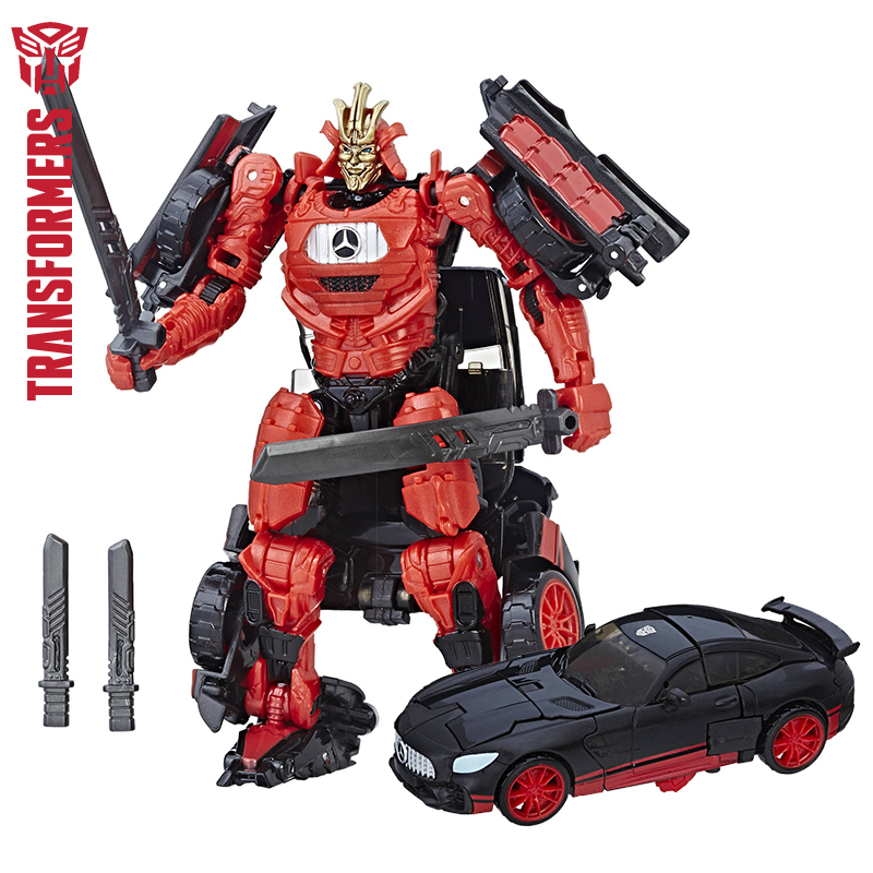 10 cm Hasbro Transformation 5 KNIGHT PREMIER EDITION DELUXE Action Anime Figures TITAN Collectible Model Toys for children стоимость