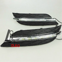 2pcs Set High Quality Daytime Running Light Fog Light LED For Mercedes Benz W245 B Class