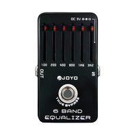 JOYO JF 11 6 Band Equalizer Electric Guitar SIX Bands EQ Effects Pedal Adjust Low Middle