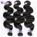 Бразильские волосы девственницы объемной волны необработанные дешевые человеческих волос rosa продукты волосы 3 шт. бразильские объемная волна бразильских пучки