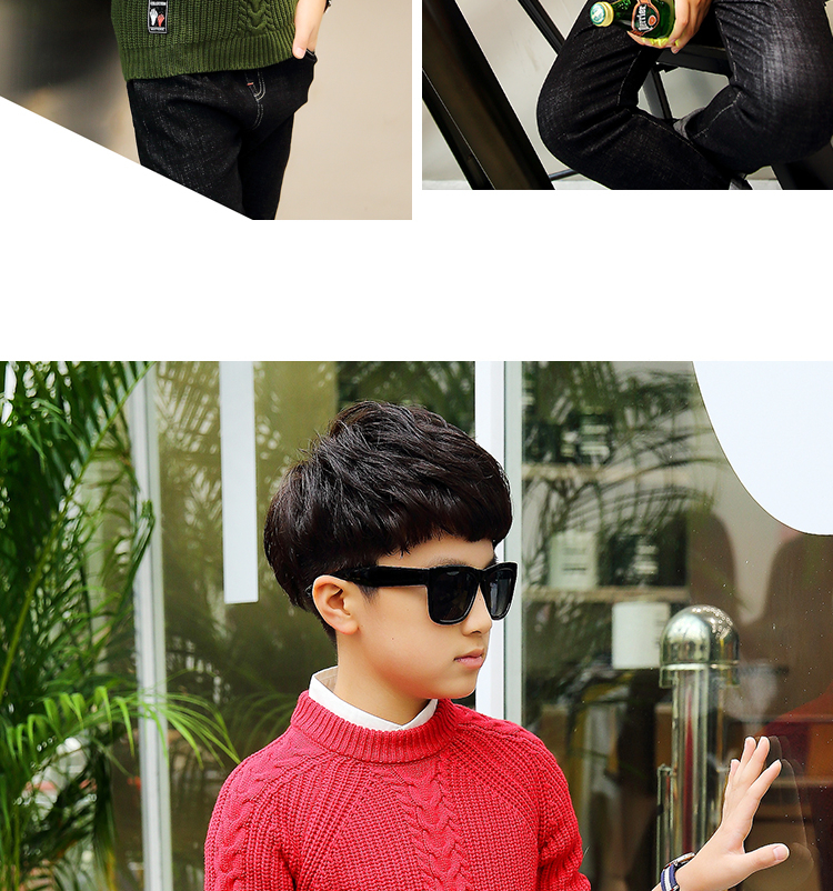 HTB1.3AcfjihSKJjy0Ffq6zGzFXaU - 2019 winter children's clothing Boy's clothes pullover Sweater Kids clothes Cotton products Keep warm Boy sweater Thicker