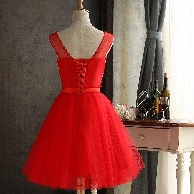 Robes Court Robe Grande Dos Bal Sexy Fiesta Maille Tenue De Danse Diamant Fête Nu Sans Taille Soirée Manches Femmes D'été Rouge 4q6Hg4x